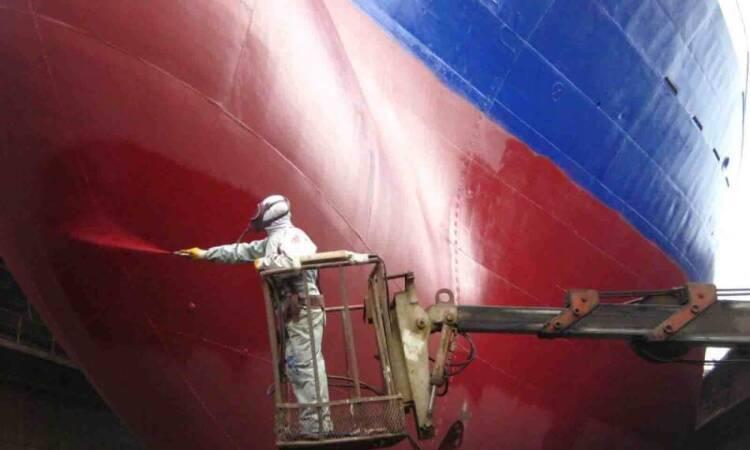 رنگ آمیزی بدنه کشتی و اهمیت آن