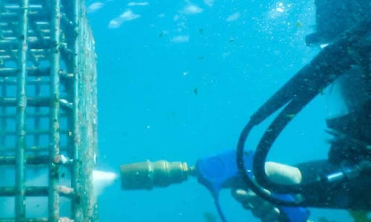کاربرد واترجت در زیر آب
