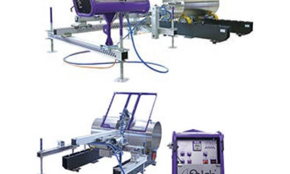 ربات تمام اتوماتیک فالش برای شستشو و لایه برداری لولهها