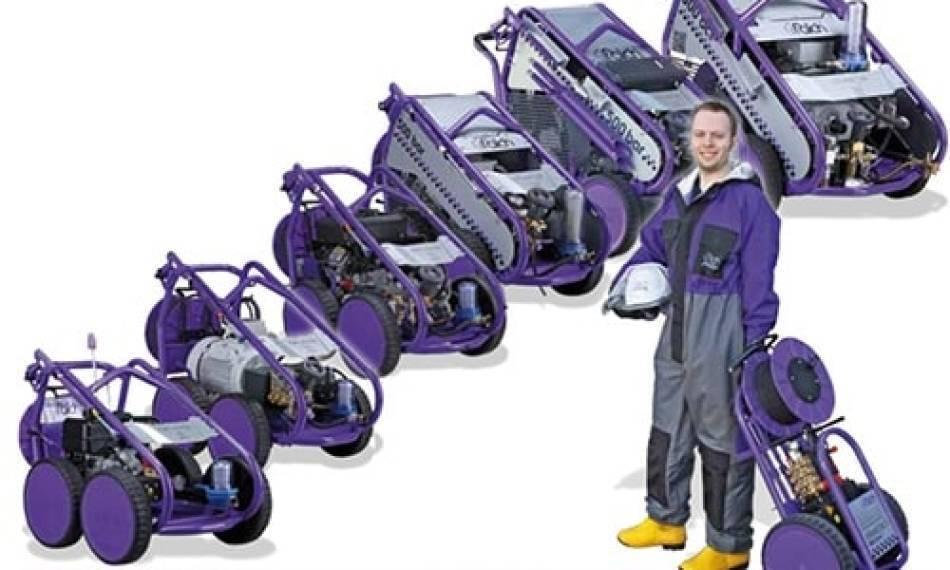 واترجت صنعتی Wheel jet 11 P، همراه قدرتمند شما در هر سایت ساخت و ساز