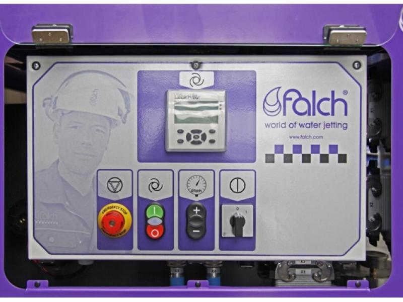 صفحه کنترل پنل دستگاه واترجت آب سرد g585