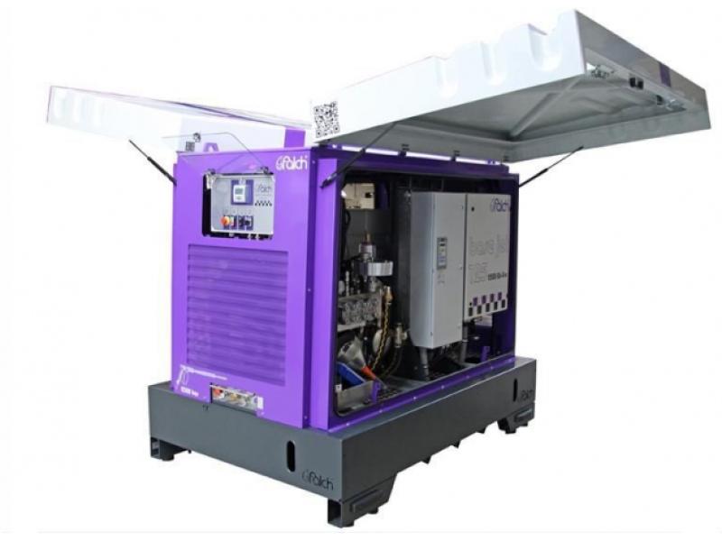 واترجت g369 یک واتر جت صنعتی فوق فشار قوی دائم کار