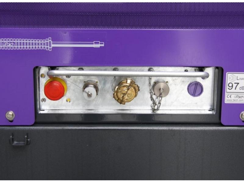 نمای نزدیک کلیدهای کنترل گر واترجت g359