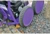 واترجت g332 مجهز به چرخ های پلاستیکی قدرتمند قابل حرکت بر روی انواع سطوح ناهموار و خشن