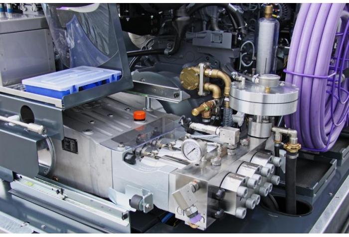 تکنولوژی خلاقانه پمپ پلانجری واترجت g555