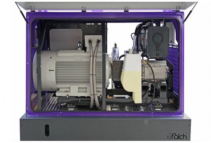 نمای جانبی تجهیزات جانبی واترجت g585