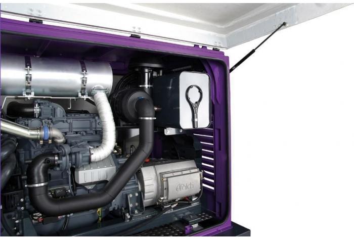 نمای جانبی از تجهیزات داخلی واترجت g359