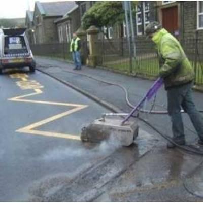 حذف خطوط ترافیکی  - removal marking lines