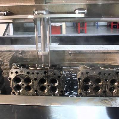 شستشوی قطعات صنعتی با التراسونیک  - Washing industrial parts with ultrasonic